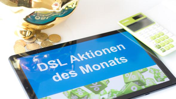DSL Aktionen des Monats